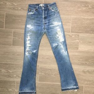 Re/Done Levi's The Elsa High Rise Jeans size 24